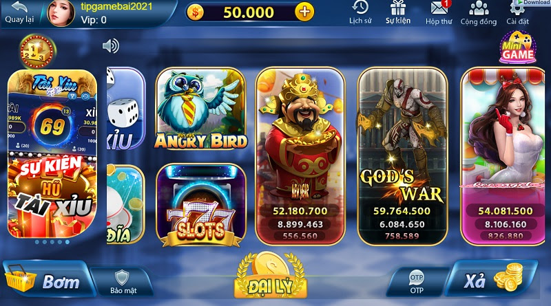 Game slot Mely Club